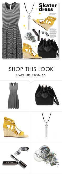 """""""le3no.com"""" by svijetlana ❤ liked on Polyvore featuring LE3NO, Vince Camuto, Bobbi Brown Cosmetics, skaterdress, polyvoreeditorial and le3no"""