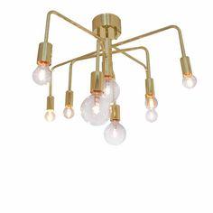 Ambia Home DECKENLEUCHTE, Gold Jetzt bestellen unter: https://moebel.ladendirekt.de/lampen/deckenleuchten/deckenlampen/?uid=a7a7fe0d-f628-518b-a0cc-d5627681fc1f&utm_source=pinterest&utm_medium=pin&utm_campaign=boards #deckenleuchten #lampen #deckenlampen