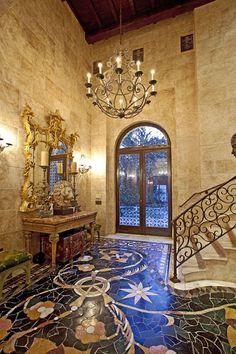 La-Villa-Contenta-mosaic-floor