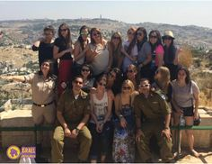 Israeli soldiers join each Sachlav | Israel on the house Birthright - Israel trip as participants. #Sachlav #Taglit www.israelonthehouse.com