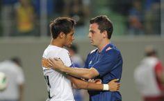 No Santos, Montillo exalta parceria com Neymar