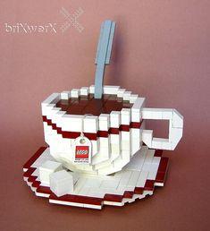 Cup O' Tea 2 by New from Dave & John's briXwerX!, via Flickr #teatime https://www.facebook.com/CelestialSeasonings/app_593554104036964