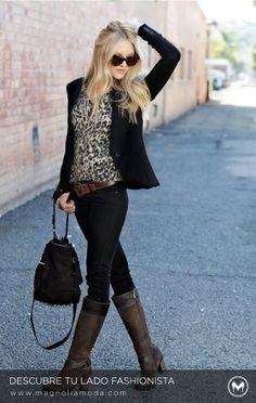 Winter fashion - moda invierno Moda Urbana ad8ba0f34c4