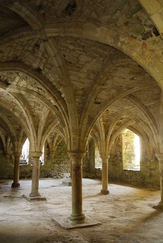 Crypt At Battle Abbey, Sussex