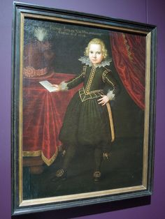 Portrait of Johann Adolf von Holzhausen, german master 16th Century, Baroque, Seventeen, Germany, Frankfurt, Jacobean, Painting, Image, Portraits