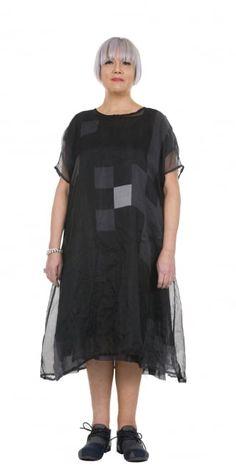 Rundholz Mainline Block Print Silk Dress