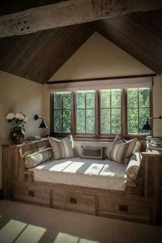 25 Cozy Interior Design and Decor Ideas for Reading Nooks - - Living Room Designs, Living Room Decor, Awesome Bedrooms, Cabana, Home Renovation, Home Interior Design, Modern Interior, Home Furniture, Furniture Stores