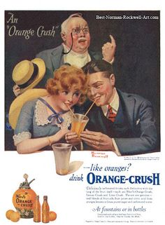 *Ad for Orange Crush--page 108
