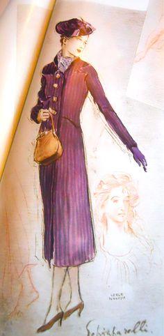 Schiaparelli, spring 1938, Plaisir de France magazine