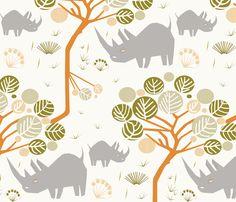 Grazing fabric by mirjamauno on Spoonflower - custom fabric