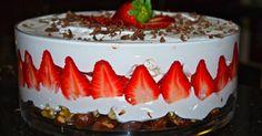 Nyomj egy lájkot,ha Te is szereted Meringue, No Bake Cake, Fudge, Cheesecake, Strawberry, Pudding, Cupcakes, Baking, Desserts