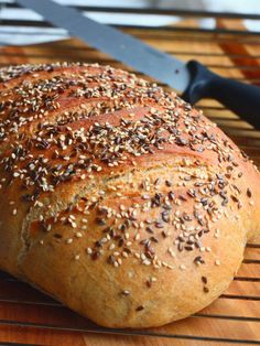 Bread Board, Bread Baking, Bagel, Bread Recipes, Healthy Eating, Food, Drinks, Health And Beauty, Baking