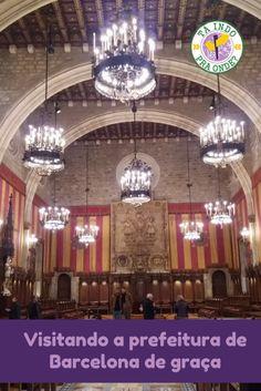 Visitando a prefeitura de Barcelona (Ayuntament de Barcelona - Casa de la Ciudad), Espanha