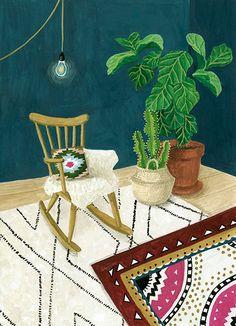 Mélanie Voituriez I Illustrations I Peintures