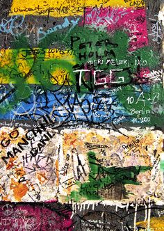 Berlin - portion of of that infamous wall. This is the freedom wall.
