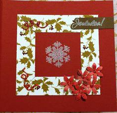 A christmas card for Lauran korttihaaste #10