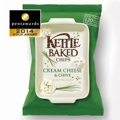 Gold Pentaward 2014 Food - Savoury snacks Brand: Kettle Baked Chips Entrant: Turner Duckworth: London & San Francisco Country: UNITED KINGDOM and USA