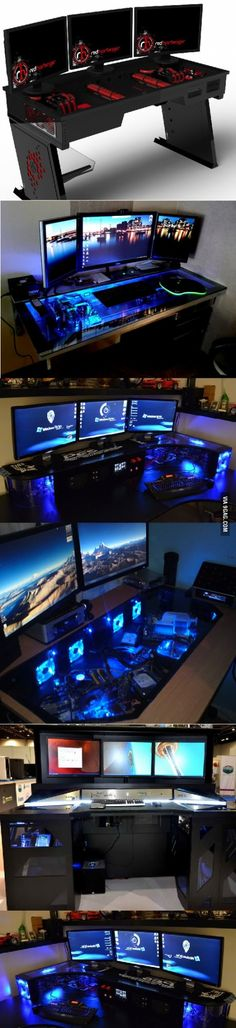 Brother agreed to build epic gaming desk if I get a post to the hotpage, gamers…