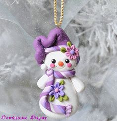 Image uploaded by Naomi Meeuwenberg. Find images and videos about fimo on We Heart It - the app to get lost in what you love. Polymer Clay Kunst, Fimo Clay, Polymer Clay Projects, Polymer Clay Creations, Clay Crafts, Polymer Clay Ornaments, Polymer Clay Charms, Polymer Clay Jewelry, Diy Fimo