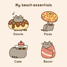 pusheen jokes / best cartoons and various comics translated into English, most funny comic strips online, gags, jokes / funny pictures Cat Comics, Funny Comics, Pusheen Love, Pusheen Stuff, Chat Kawaii, Kawaii Potato, Image Chat, Funny Comic Strips, Funny Cat Videos