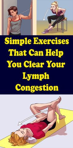 Simple exercises that can help you eliminate your lymphatic stasis - Gesundheit und fitness - Best Food Wellness Fitness, Health And Fitness Tips, Fitness Diet, Yoga Fitness, Health And Wellness, Enjoy Fitness, Fitness Workouts, Fitness Motivation, Easy Workouts