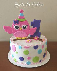 Amazing Picture of Owl Birthday Cake - Cake decorating - kuchen kindergeburtstag Owl Smash Cakes, Owl Cakes, Cupcake Cakes, Ladybug Cakes, Fruit Cakes, Birthday Cakes Girls Kids, Owl Cake Birthday, Cake Kids, Owl Birthday Parties