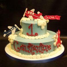 Airplane birthday cake Dessert Works Bakery  Westwood, MA