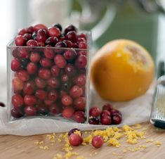 Cranberry Sauce - This is Julia Child's recipe, and the very best!