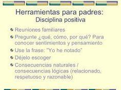 Resultado de imagen para disciplina positiva en casa