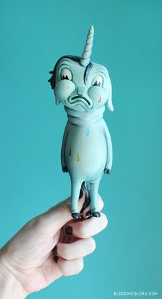 Bleed in Colors: TOY A DAY // ACCIDENTAL MISHAP BY TRAVIS LAMPE