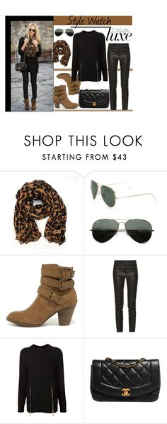 """Untitled #911"" by samha ❤ liked on Polyvore featuring Ray-Ban, DbDk, Isabel Marant, Alexander Wang and Chanel"