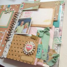 Image of Collecting Happy Moments Portfolio Album Mini Scrapbook Albums, Mini Albums, Scrapbook Pages, Scrapbooking Ideas, Texas And Oklahoma, Wisconsin, Journal Paper, Art Journals, Christmas Journal