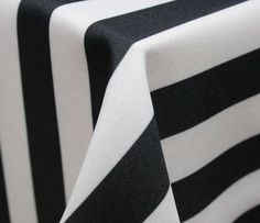 Black and White Stripe » A Classic Party Rental