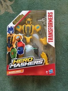 Bn #transformers #robots in disguise hero mashers #bumblebee action figure free p,  View more on the LINK: http://www.zeppy.io/product/gb/2/141898093588/