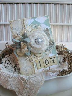Joy - Card - Cherry's Jubilee Blog