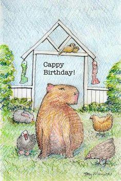 ♡ capybara