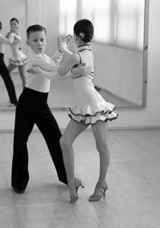 Juvenile ballroom dancers. If they can do it, I can do it!!!