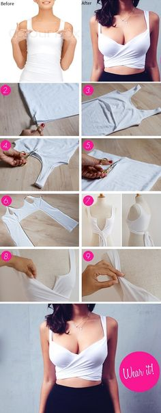 Easy DIY Crop Top
