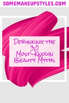 What women are led to believe about skin-care and makeup could fill volumes. We are incessantly bombarded with these myths disguised as truths. Like any brainwashing procedure, it takes effort and facts to get to what is possible and what is worth your time and money. These 30 myths represent a snapshot of the typical erroneous information you get from cosmetics companies that end up hurting your skin and budget because they are a poor way to make decisions about the products. #beautymyths Beauty Tips And Secrets, Beauty Hacks, Beauty Myth, Cosmetics Industry, Cosmetic Companies, Dermal Fillers, Truths, Effort, Budget