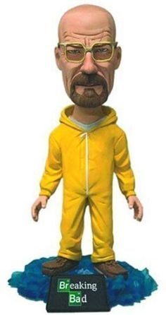 Mezco Toyz Breaking Bad Bobblehead Walter 6 Action Figure by Natorytian @ niftywarehouse.com