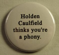 Holden Caulfield - The Catcher in the Rye - J. Jd Salinger, Catcher In The Rye, Pin And Patches, Book Nerd, Book Quotes, Literature Quotes, Book Worms, Geek Stuff, Teaching