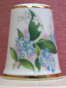 Blossoms of Spring Thimble by Royal Grafton Lily Valley Flowers Swinburne TCC
