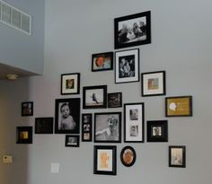 How to creatively display your family photos | Magazines.com #DIY
