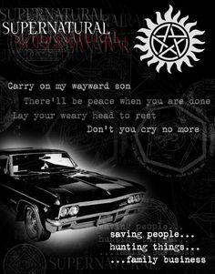 606 Hot Movie TV Shows - Supernatural 18 Poster Supernatural Impala, Castiel, Supernatural Tv Show, Supernatural Wallpaper, Supernatural Background, Supernatural Playlist, Supernatural Poster, Supernatural Pictures, Dean Winchester