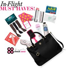 What to Pack in Your Carry On Tote via www.thecocomagazine.com