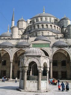 Sultan Ahmed Mosque 02 - Sultan Ahmet Camii - Vikipedi