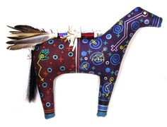 Navajo Horse Spirit Doll - Peter Ray James - Museum of Indian Arts and Culture - Stunning Art Work by New Mexico Artists