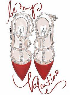 Be my Valentino... :-) Une jolie idée de cadeau Messieurs... :-)
