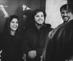 Elisa Parron, Orelsan et Gringe / Instagram