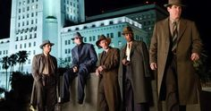Sean Penn, Ryan Gosling, Emma Stone, Josh Brolin and more unite in five intriguing images from Ruben Fleischer's Gangster Squad. Sean Penn, Ryan Gosling, Mickey Cohen, Gangster Movies, Mafia Gangster, Josh Brolin, Anthony Mackie, Movie Previews, Health Tips For Women